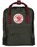 Рюкзак Kanken Mini Forest Green/Ox Red