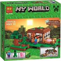 Конструктор My World 10176 Первая ночь