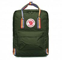 Рюкзак Fjallraven Kanken Rainbow Forest Green