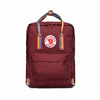 Рюкзак Fjallraven Kanken Rainbow Ox Red Rainbow