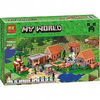 Конструктор My World 10531 Деревня